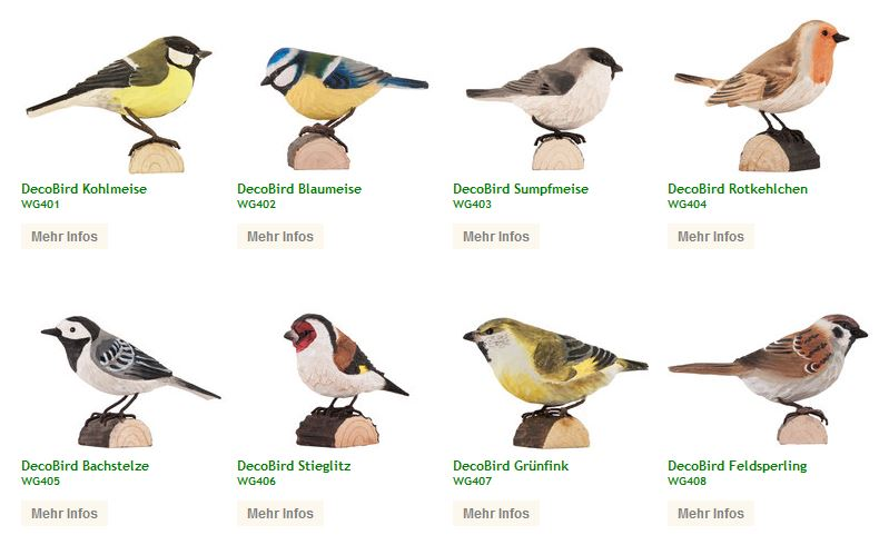 DecoBirds - Wildlife Garten