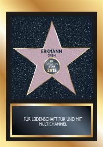 EK Passion Star 2015 Urkunde Erkmann (Klein)