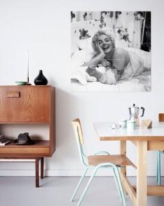 Mosaikbild Marilyn von IXXI