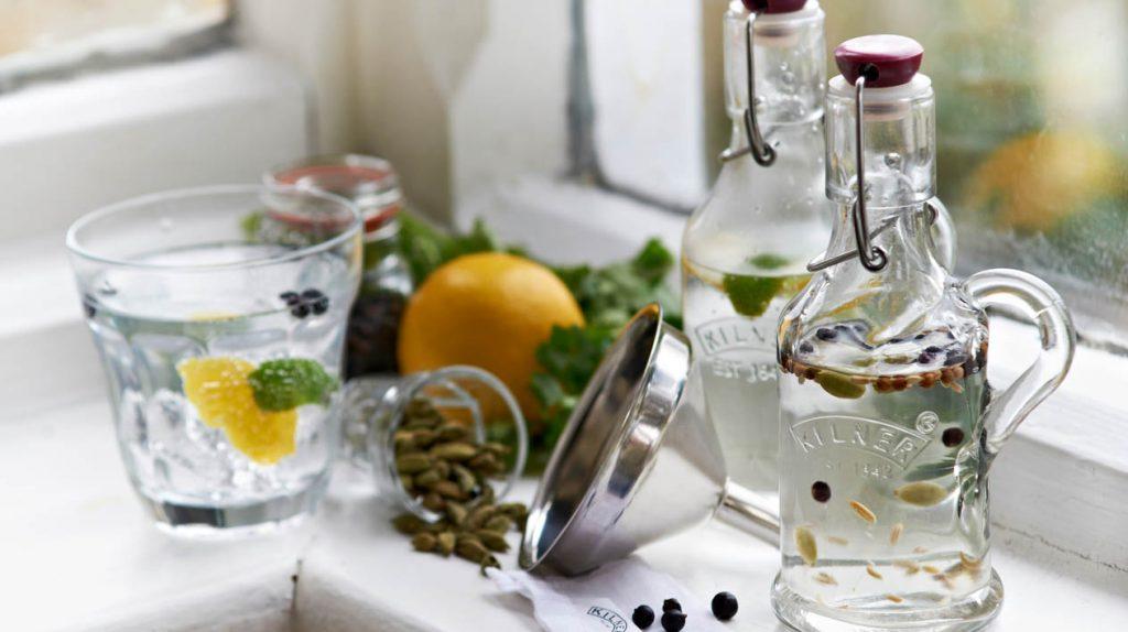 Leckere Getränke von und mit Kilner